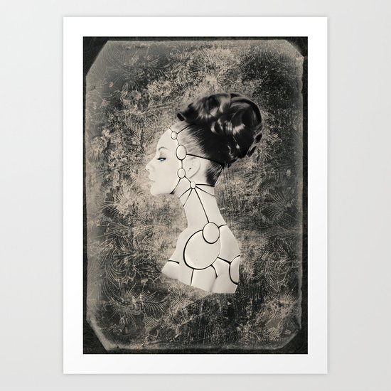 Robotbeauty Art Print