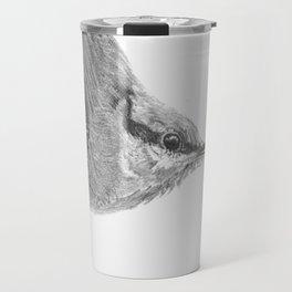 Friendly Nuthatch Travel Mug