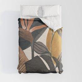 Abstract Tropical Art III Comforters