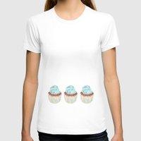 cupcake T-shirts featuring Cupcake by Marta Li