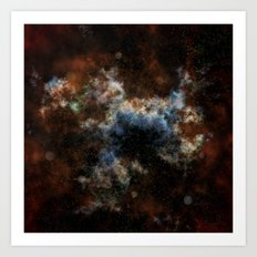 Spaced Out! Art Print