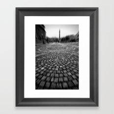 Cobbles Framed Art Print