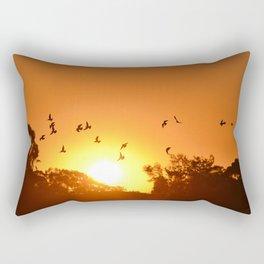 Golden Gay-time Rectangular Pillow