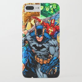 a collection of heroes iPhone Case