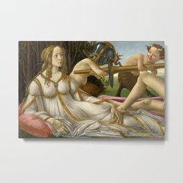 Sandro Botticelli - Venus and Mars Metal Print