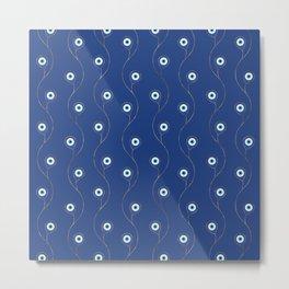 Nazar pattern - Turkish Eye charm #2 Metal Print