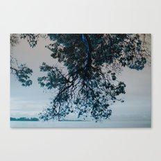 Blue Overhang Canvas Print