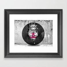 Inuit spirit Framed Art Print