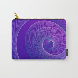 Spiral helix 3d illustration Carry-All Pouch