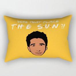 Was that place... The Sun?! - Friends TV Show Rectangular Pillow