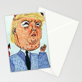 fuck trump Stationery Cards