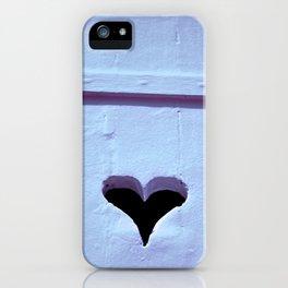 Hearthole iPhone Case