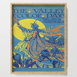 The Valley of Color Days Book Serving Tray