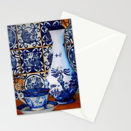 Blue Willow Stillife Stationery Cards