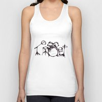 drums Tank Tops featuring Drums by Jake Stanton