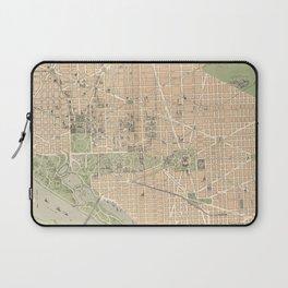 Vintage Map of Washington DC (1892) Laptop Sleeve