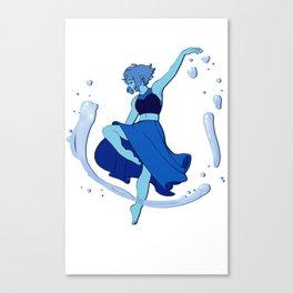 Lapis Dances Canvas Print