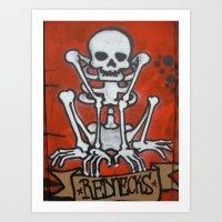 Rednecks Art Print