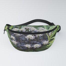 Green Aralia bush Fanny Pack