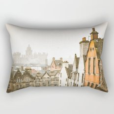 Grassmarket Rooftops Rectangular Pillow