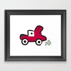 FUN DRIVE Framed Art Print