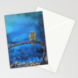 Owlie- The protector of the Forest Stationery Cards