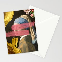 Girl with a Pearl Earring - Modern Edit - Dutch Collection Stationery Cards