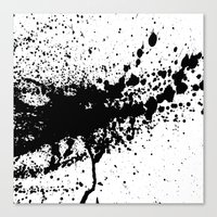 splash Canvas Prints featuring Splash by eARTh