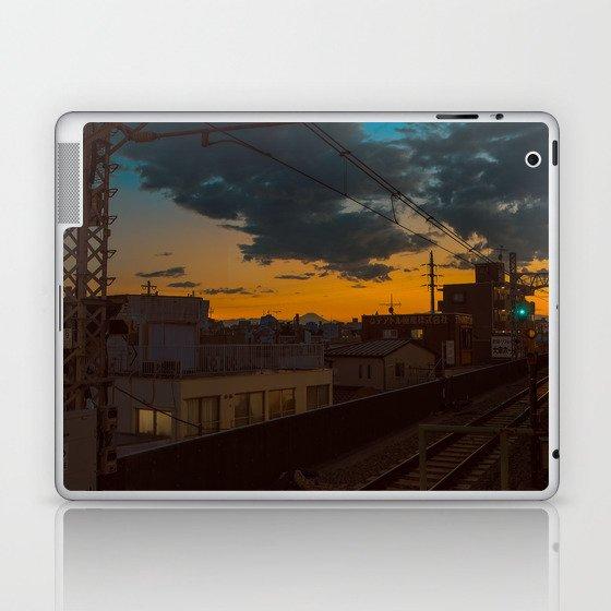 Tokyo Nights / Sunset over Fuji / Liam Wong Laptop & iPad Skin