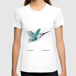 Hummingbird by: Jody Broomfield T-shirt