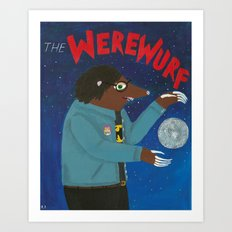 The Werewurf Art Print