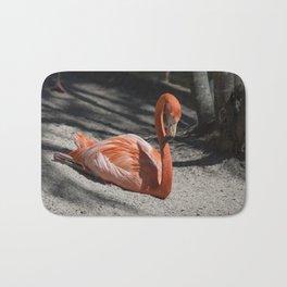 Florida Flamingo Bath Mat
