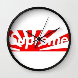 supreme japan Wall Clock