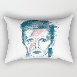 So Long Bowie.... Rectangular Pillow