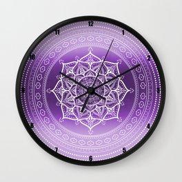 Boho Spring Spirit Wall Clock