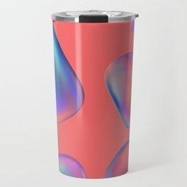 Abstract soap bubbles Travel Mug