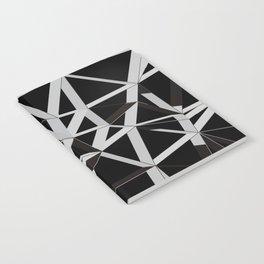 3D Futuristic GEO Lines V Notebook