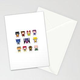 Pixel X-Men Stationery Cards