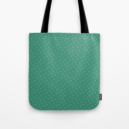 Christmas Stars - Green Tote Bag