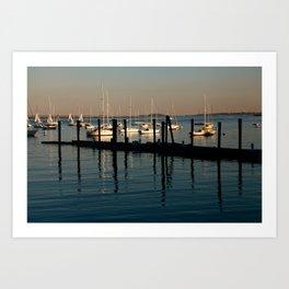 Boston Bay Art Print