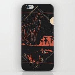 Heaven's Wild Coyote iPhone Skin