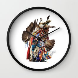 Eagle Dancer Wall Clock