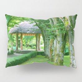 Green Gazebo Pillow Sham