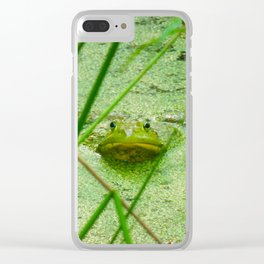 frog friend Clear iPhone Case