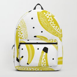 Fun banana summer fruit pattern Backpack