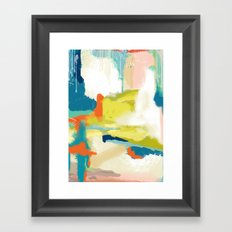 Deconstructed Landscape Two Framed Art Print