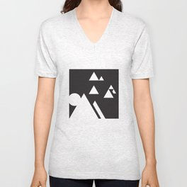 ABSTRACT_03_THE DAY Unisex V-Neck