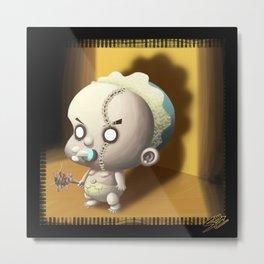 Evil Baby Metal Print