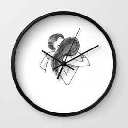 KISSY FACE Wall Clock