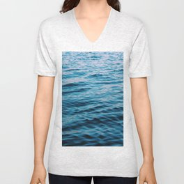 Calm Waters Unisex V-Neck